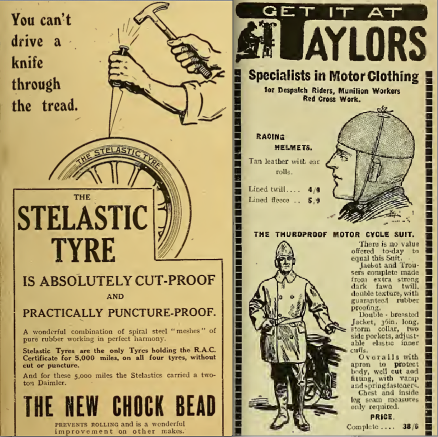 1916 STELASTIC TAYLORS ADS