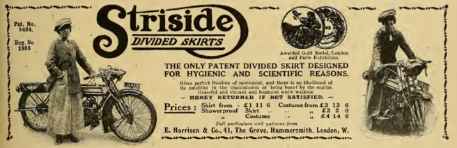 1916 STRISIDE AD