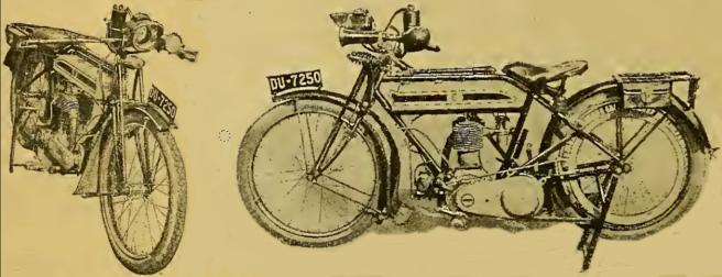 1916 TRIUMPH 4HP