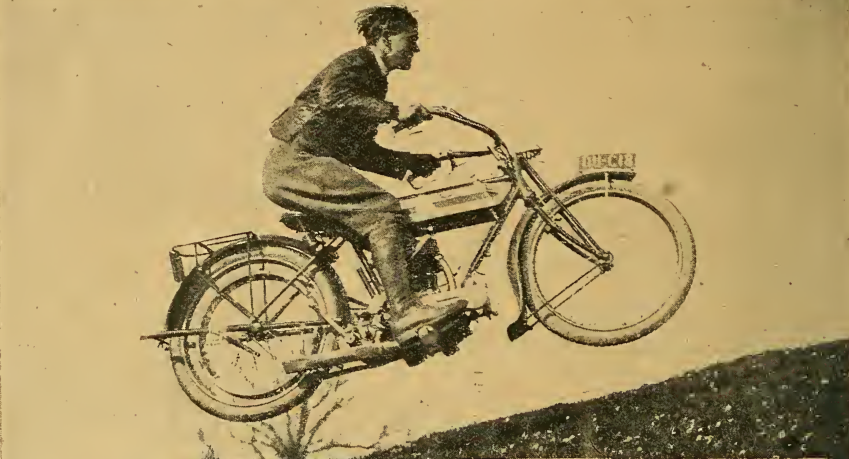 1916 TRIUMPH LEAP