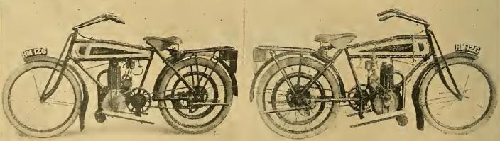 1916 VERTICAL HUMBER