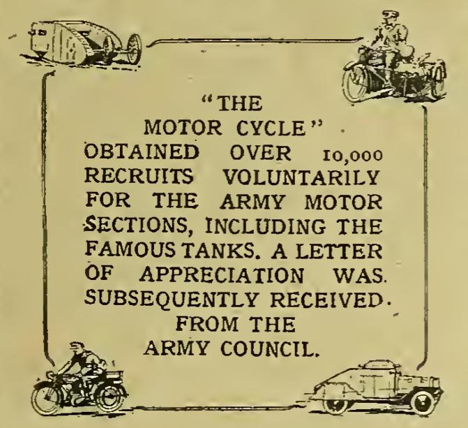 1917 MC BOASTS