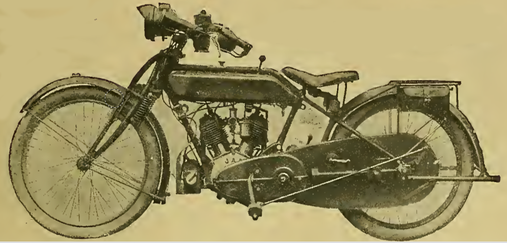 1917 ROVER TWIN RUSSIA