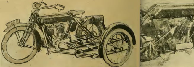 1917 RUDGE TWIN