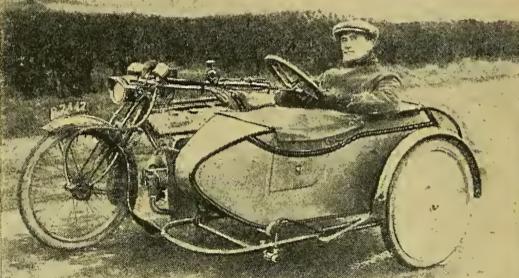 1917 SIDECAR STEER