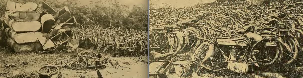 1917 SMASHED WD BIKES