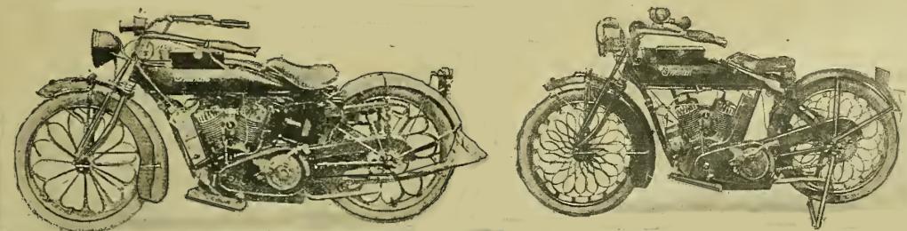 1917 SPRING WHEELS