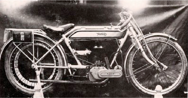 1914 NORTON OLD MIRACLE