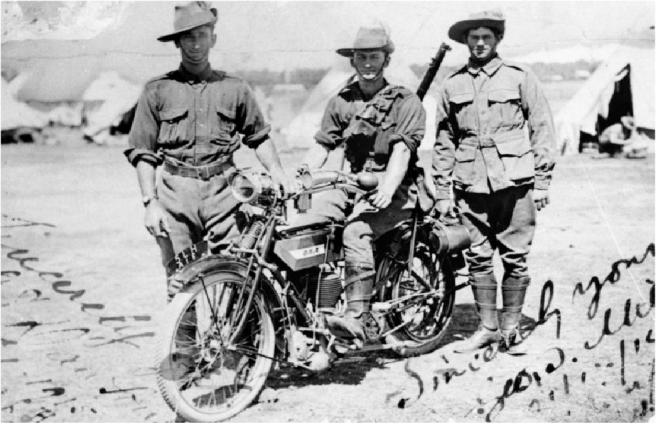 1916 OZ BSA DR