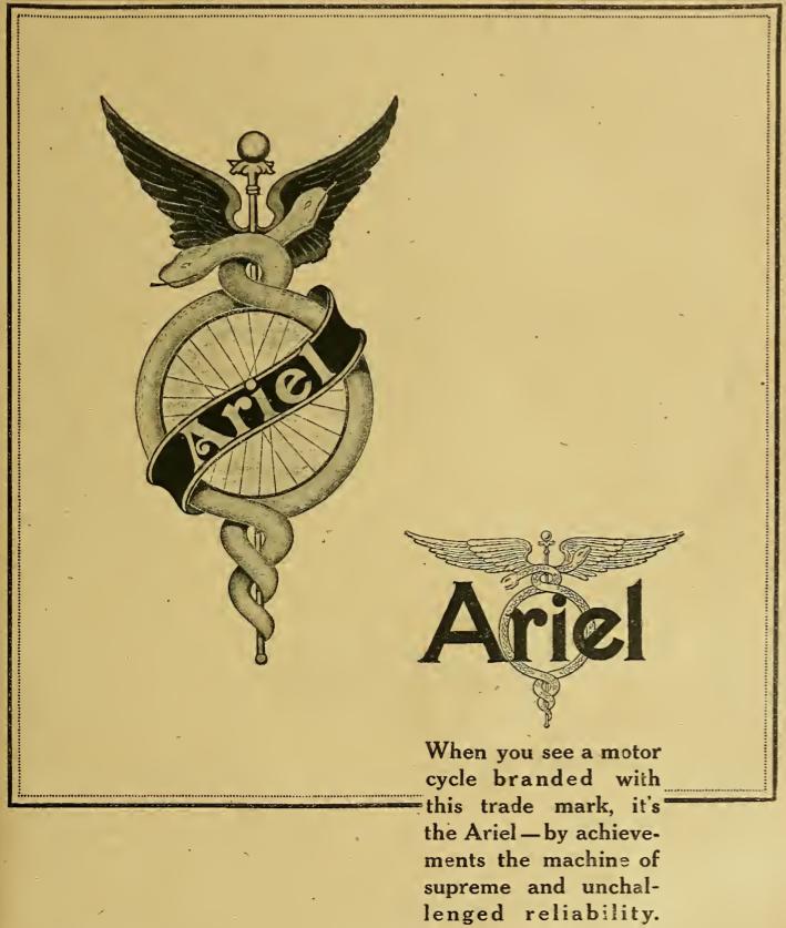 1917 ARIEL AD