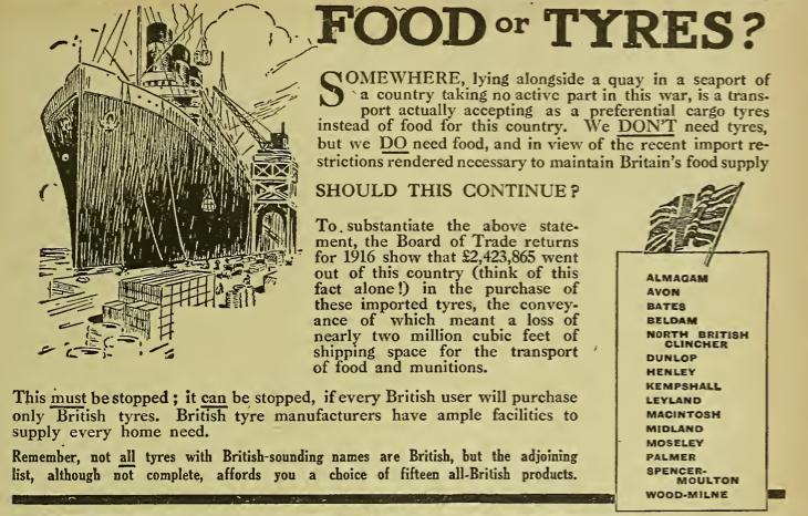 1917 FOODORTYRES AD