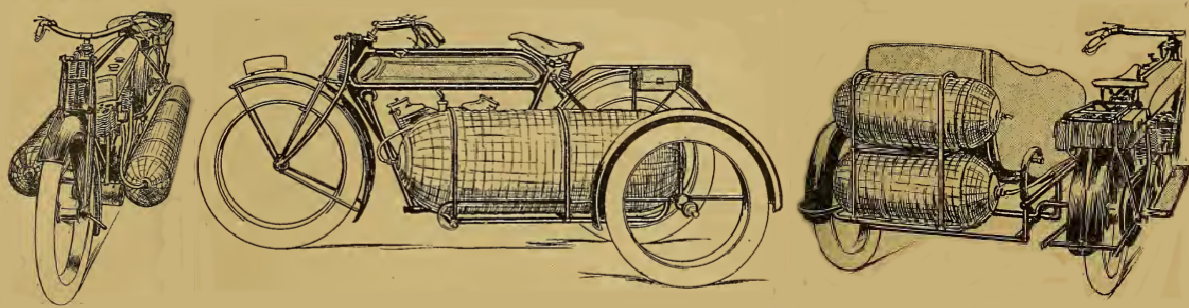 1917 GASBAG BIKES