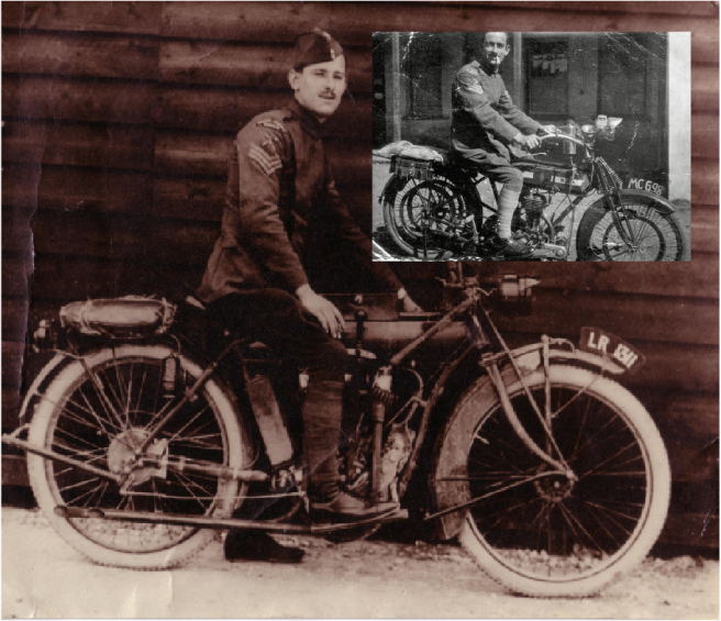 1917 INDIAN BSA DR