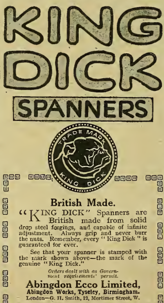 1917 KING DICK AD