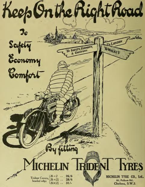 1917 MICHELIN AD