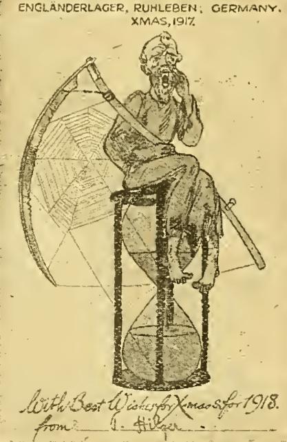 1917 PRISONER CARD