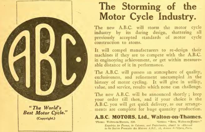 1918 ABC AD