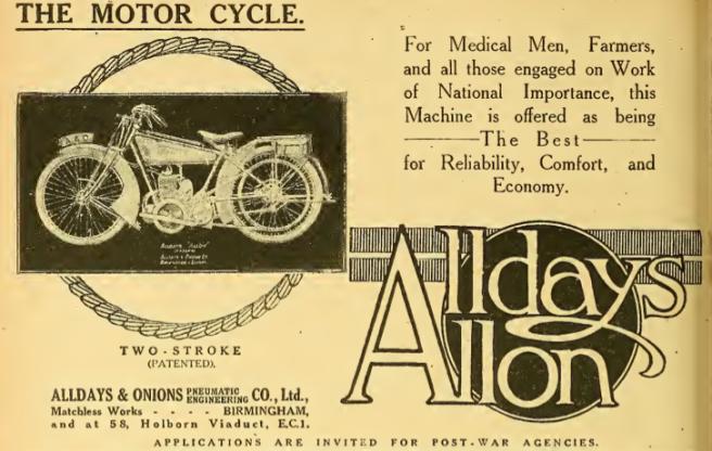 1918 ALLDAYS AD