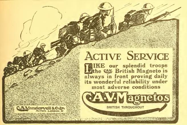 1918 CAV MAG AD 2