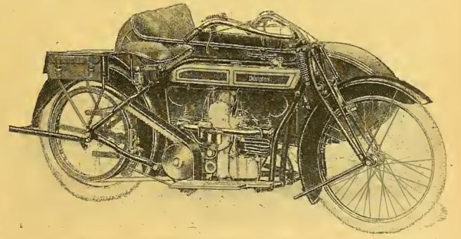 1918 DOUGLAS 4HP