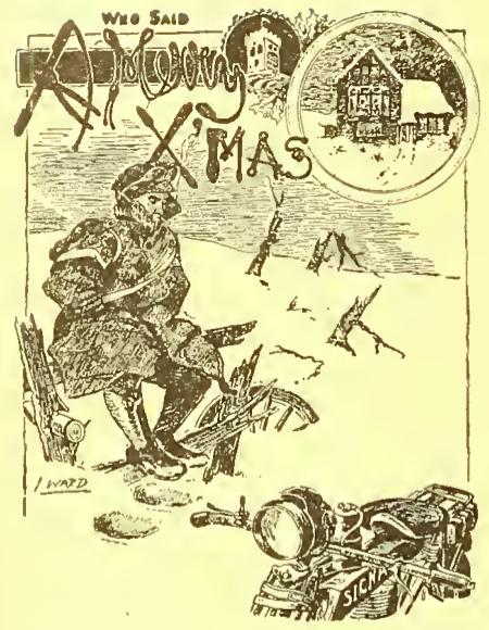 1918 DR XMAS CARD