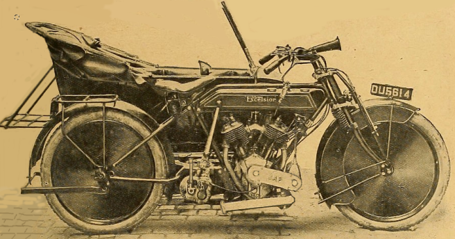 1918 EXCELSIOR TWIN