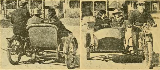 1918 HARLEY DA COMBO