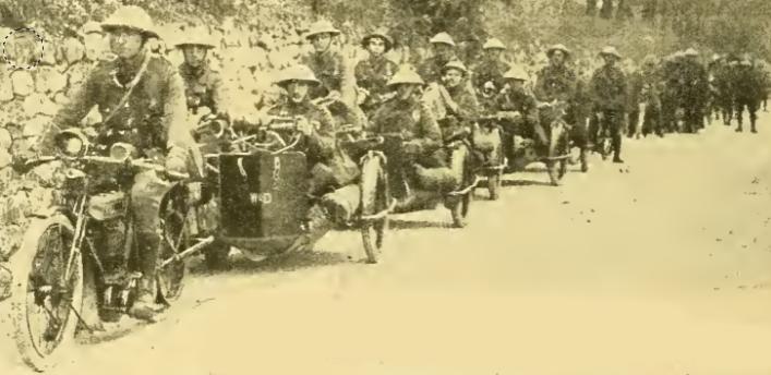 1918 ITALIAN GUNNERS