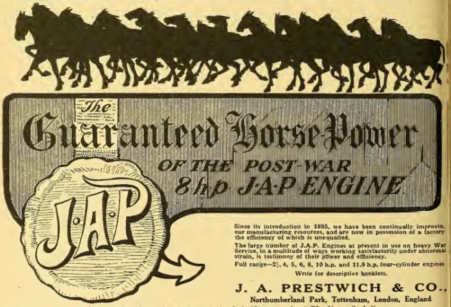 1918 JAP AD