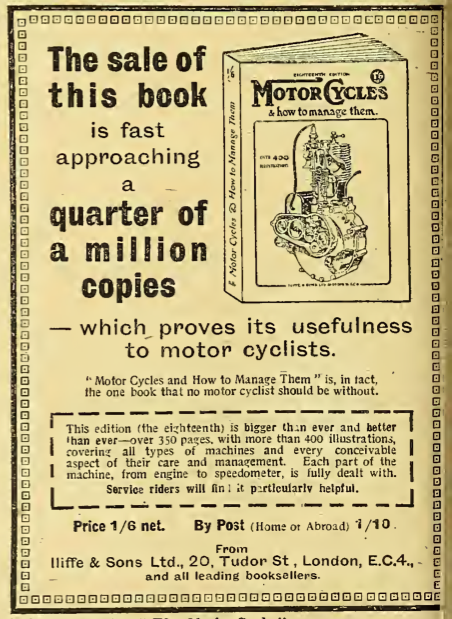 1918 MC BOOK AD