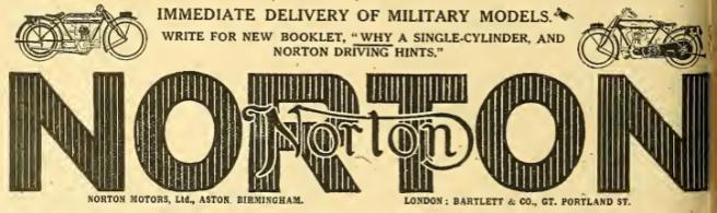 1918 NORTON AD