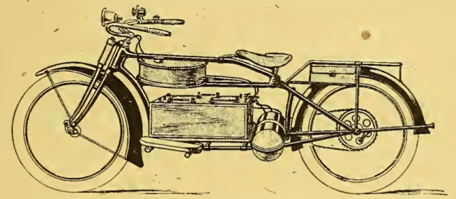1918 NORWEGIAN ELECTRIC BIKE