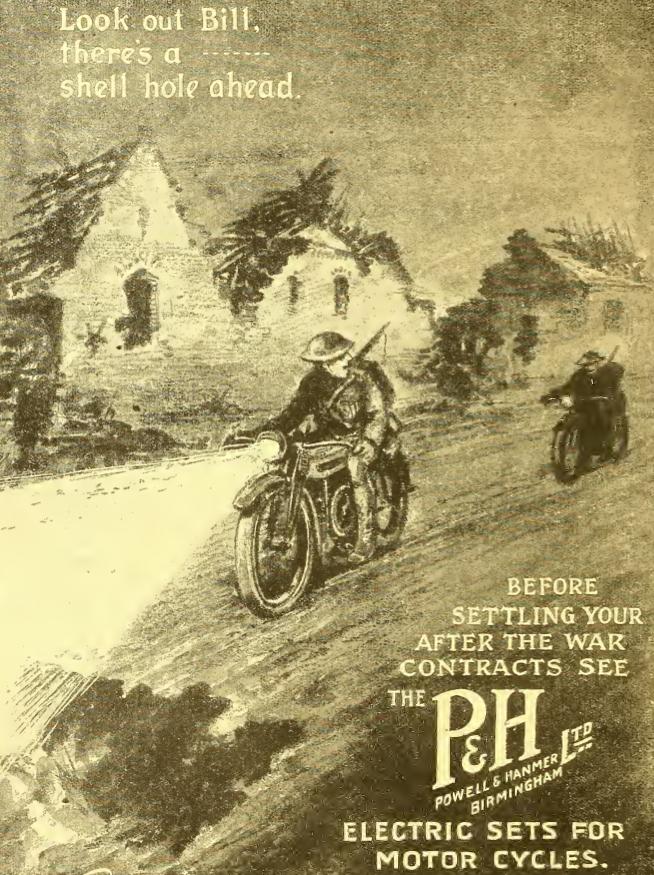 1918 P&H AD