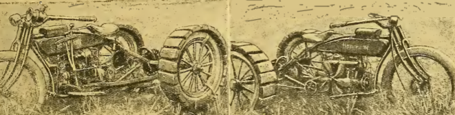 1918 TRACTOR BIKE