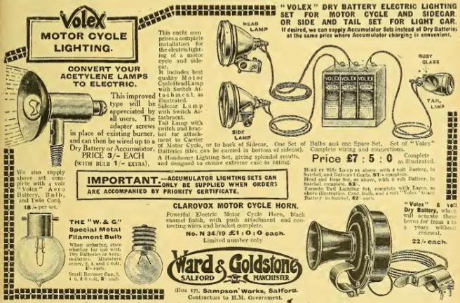 1918 VOLEX AD