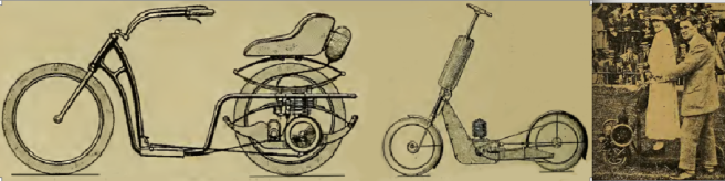 1919 3 SCOOTERS