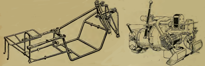 1919 ABC ENGINE FRAME