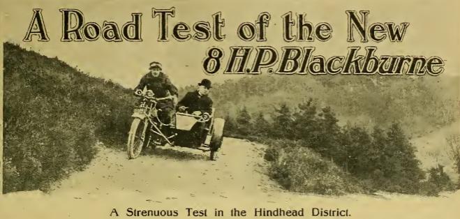 1919 BLACKBURNE 8HP TEST AW