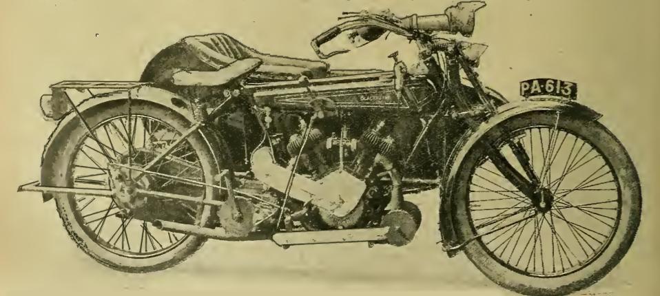 1919 BLACKBURNE 8HP