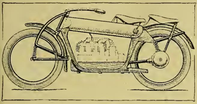 1919 DANISH PRESSED