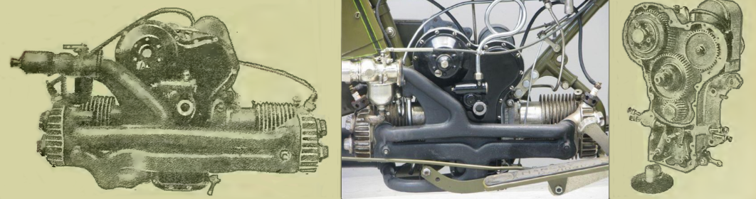 1919 HARLEY FLAT ENGINE