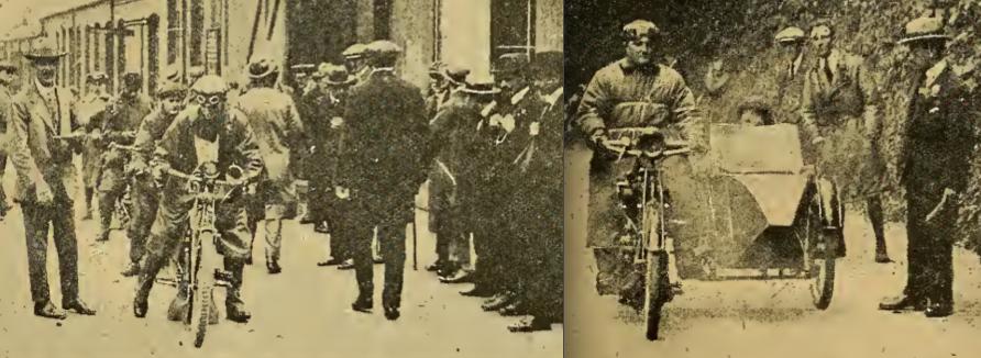 1919 HUMBER TRIAL