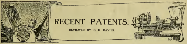 1919 PATENT AW