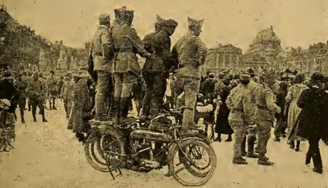 1919 VERSAILLES GRANDSTAND
