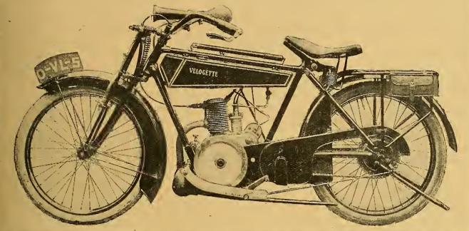 1919 1920 VELOCETTE