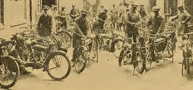 1919 TRIUMPH TESTERS