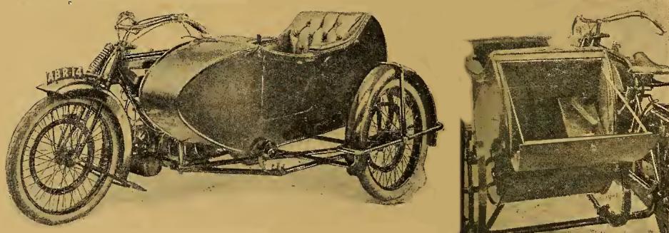 1919 1920 BSA TWIN SC