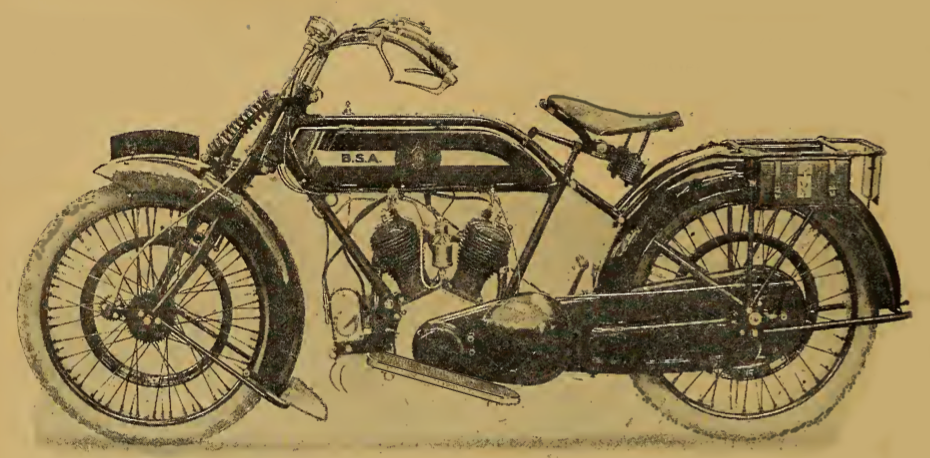 1919 1920 BSA TWIN