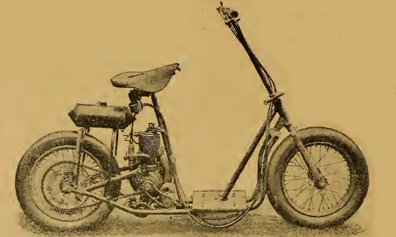1919 LEVIS SCOOTER