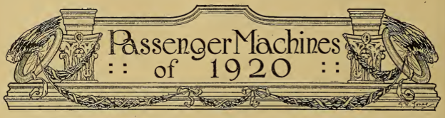 1919 PASSENGER AW